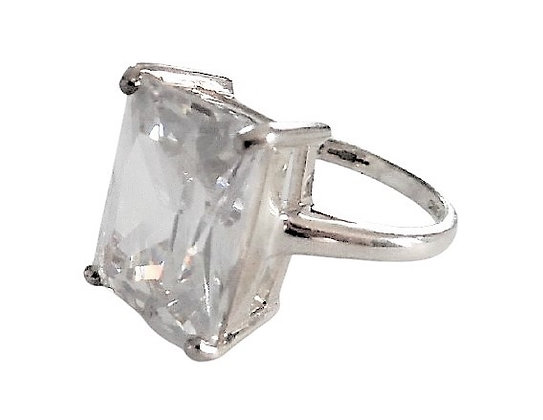Assayed Rock Engagement Ring