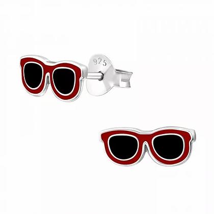 Sterling Silver Sunglasses Earrings