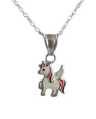 Girls Unicorn Necklace
