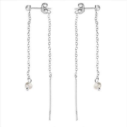 Sterling Silver Threader Earrings