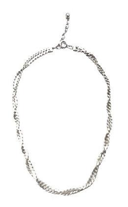 Assayed Silver Plain Necklace