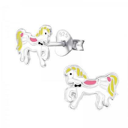 Childrens Unicorn Earrings