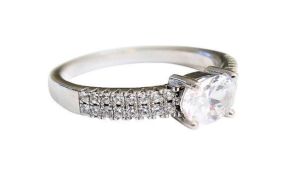 Assayed Oval Ring