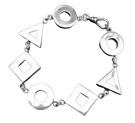 Assayed Silver Bracelet Shapes 1 Oz +