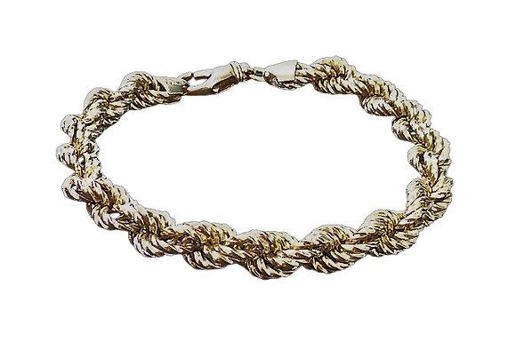 Assayed Gold Plated Sterling Silver Bracelet