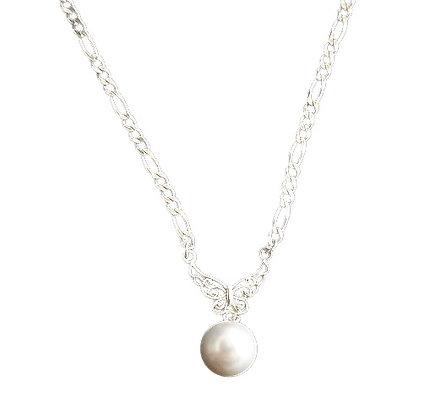Sterling Silver Art Nouveau Necklace