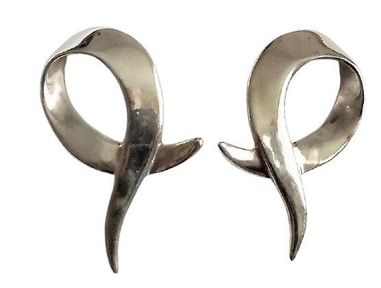 Oversized Sterling Earrings