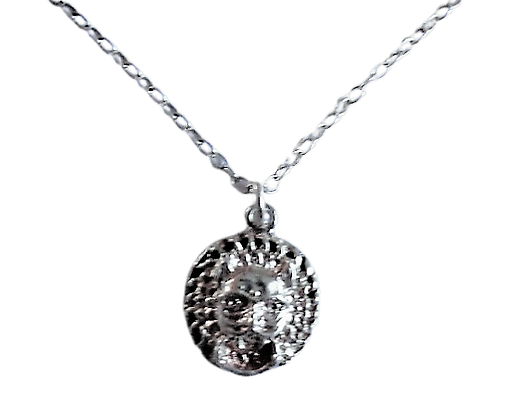 Sterling Medieval Style Necklace