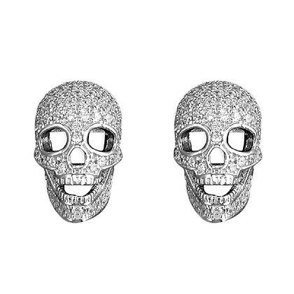 Damien Hirst Inspired Skull Earrings
