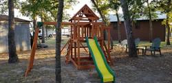 Swingset for the kids