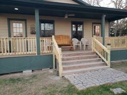 New Porch Railing