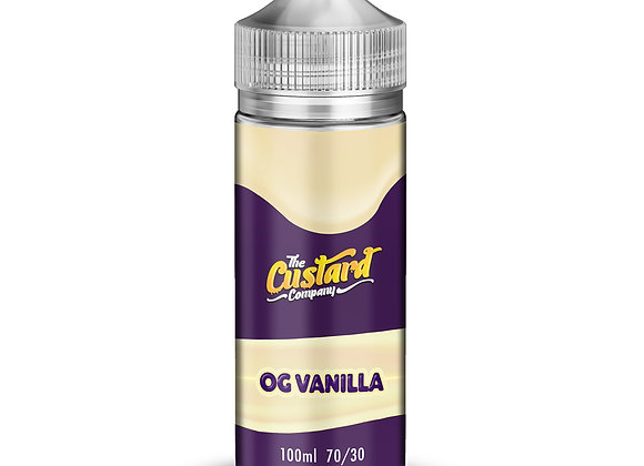 OG Vanilla Custard by The Custard Company - 100ml