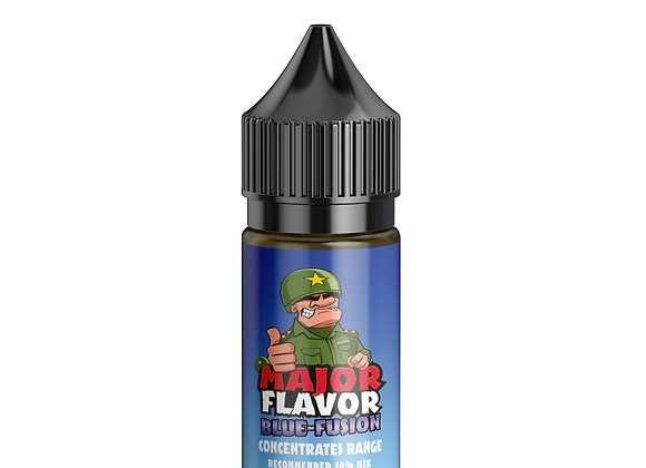 CONCENTRATE - Blue Fusion by Major Flavor - 30ml