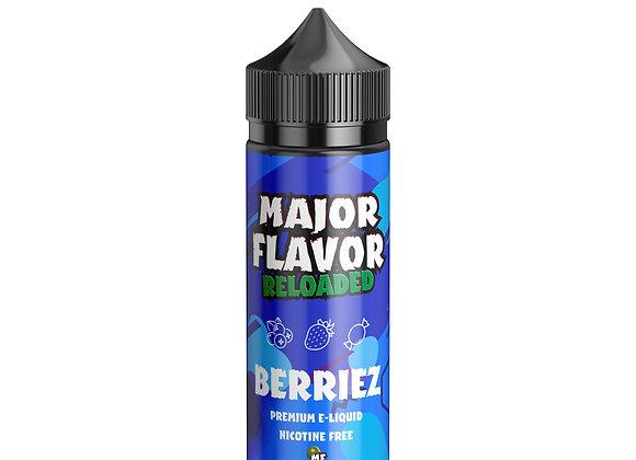 Berriez E-liquid by Major Flavor Reloaded - 100ml