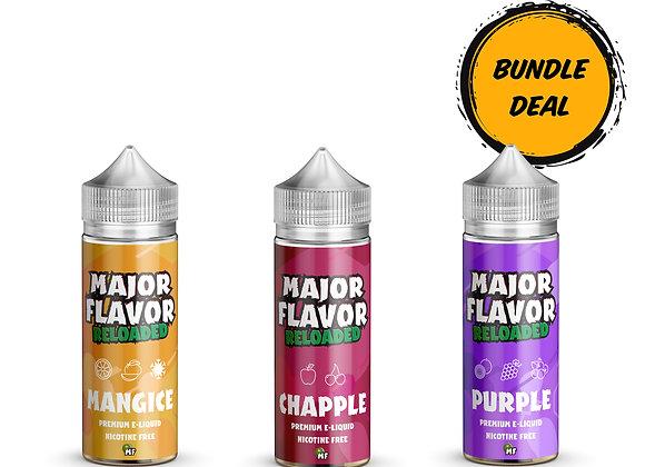 100ml Major Flavor Reloaded Bundle