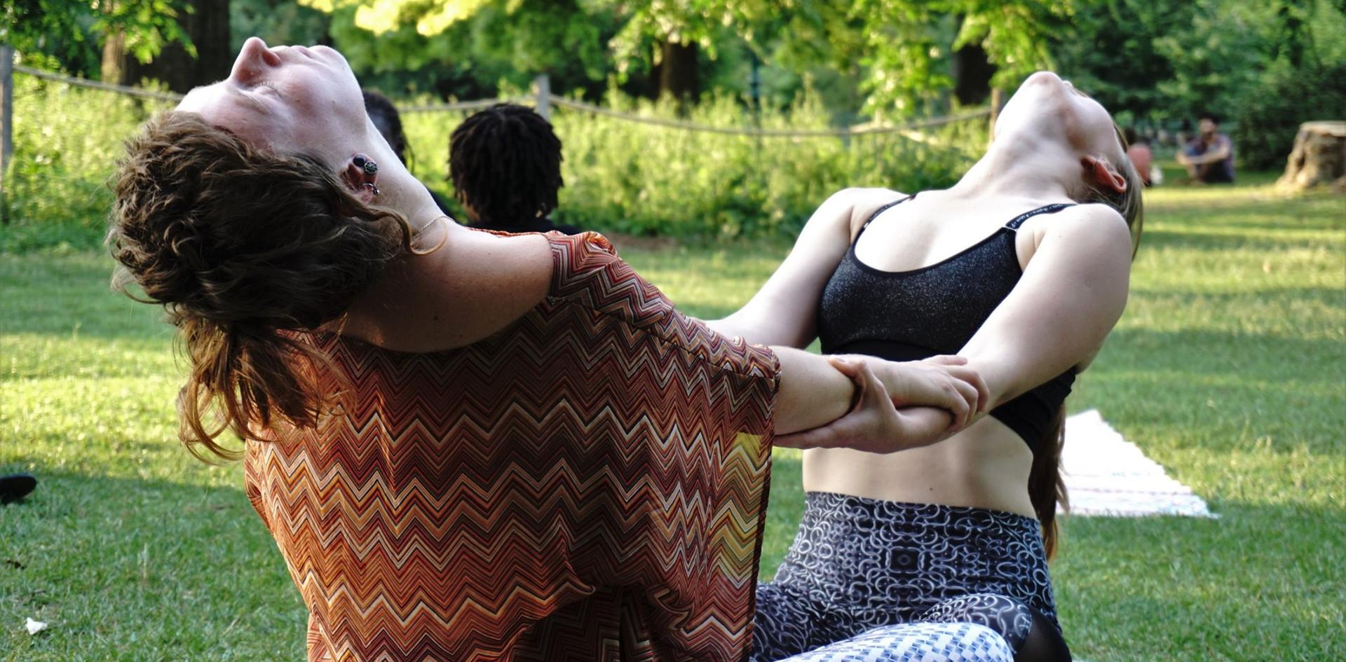 Yin Duo au Jardin Public