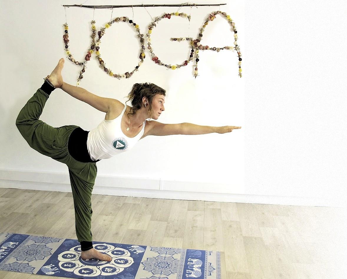 Dandaymana Dhanurasana  Hot Yoga Bikram