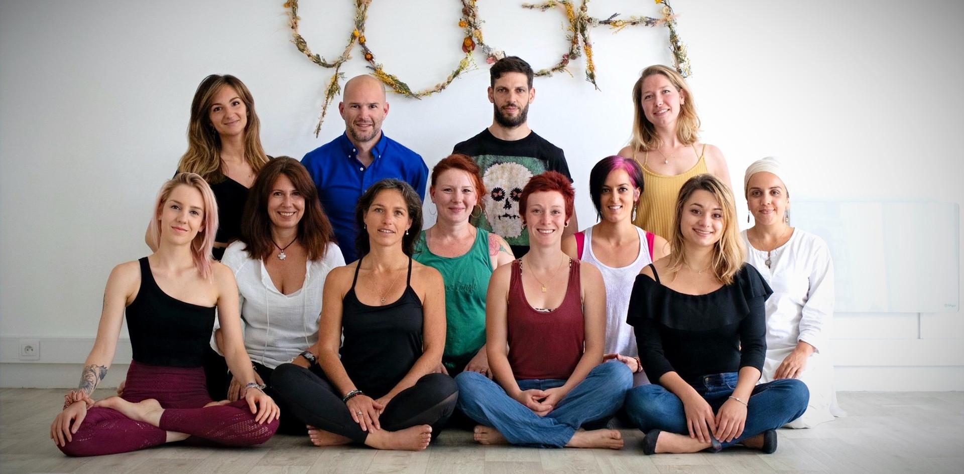 L'équipe de Yoga Sana