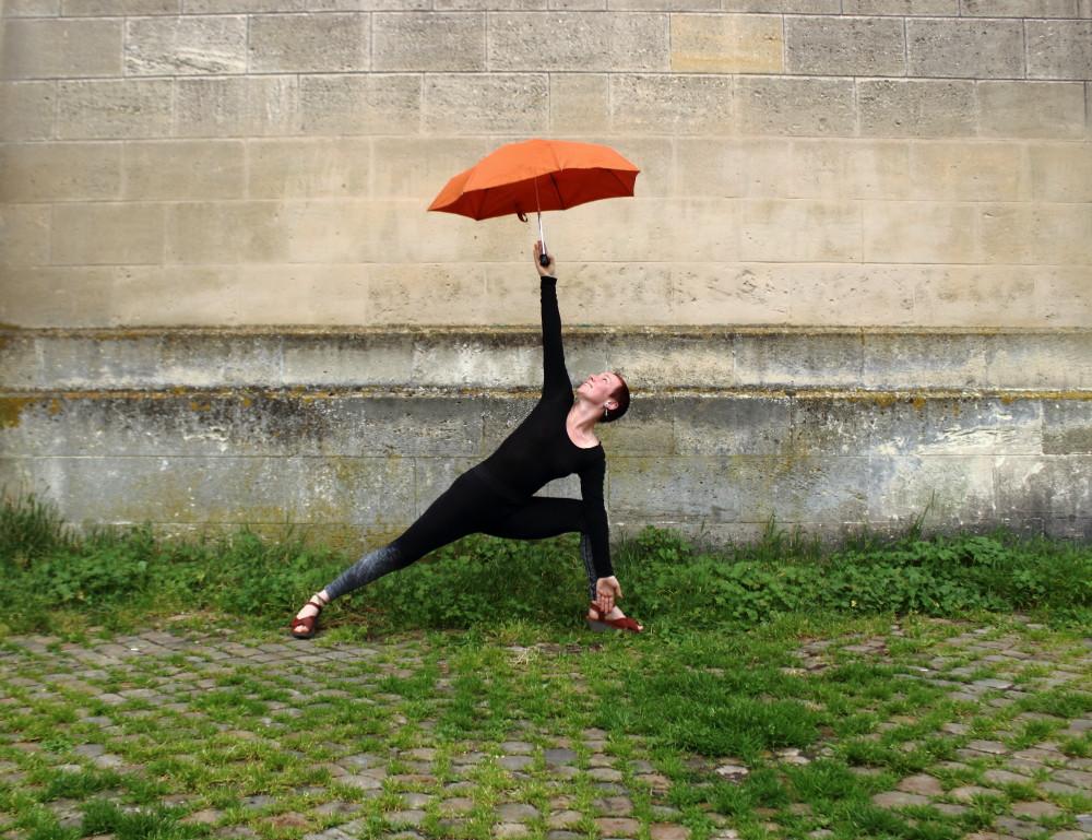 Trikonasana style Hot Yoga Bikram