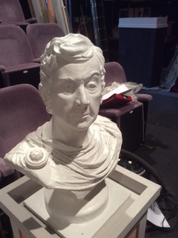 close up of bust
