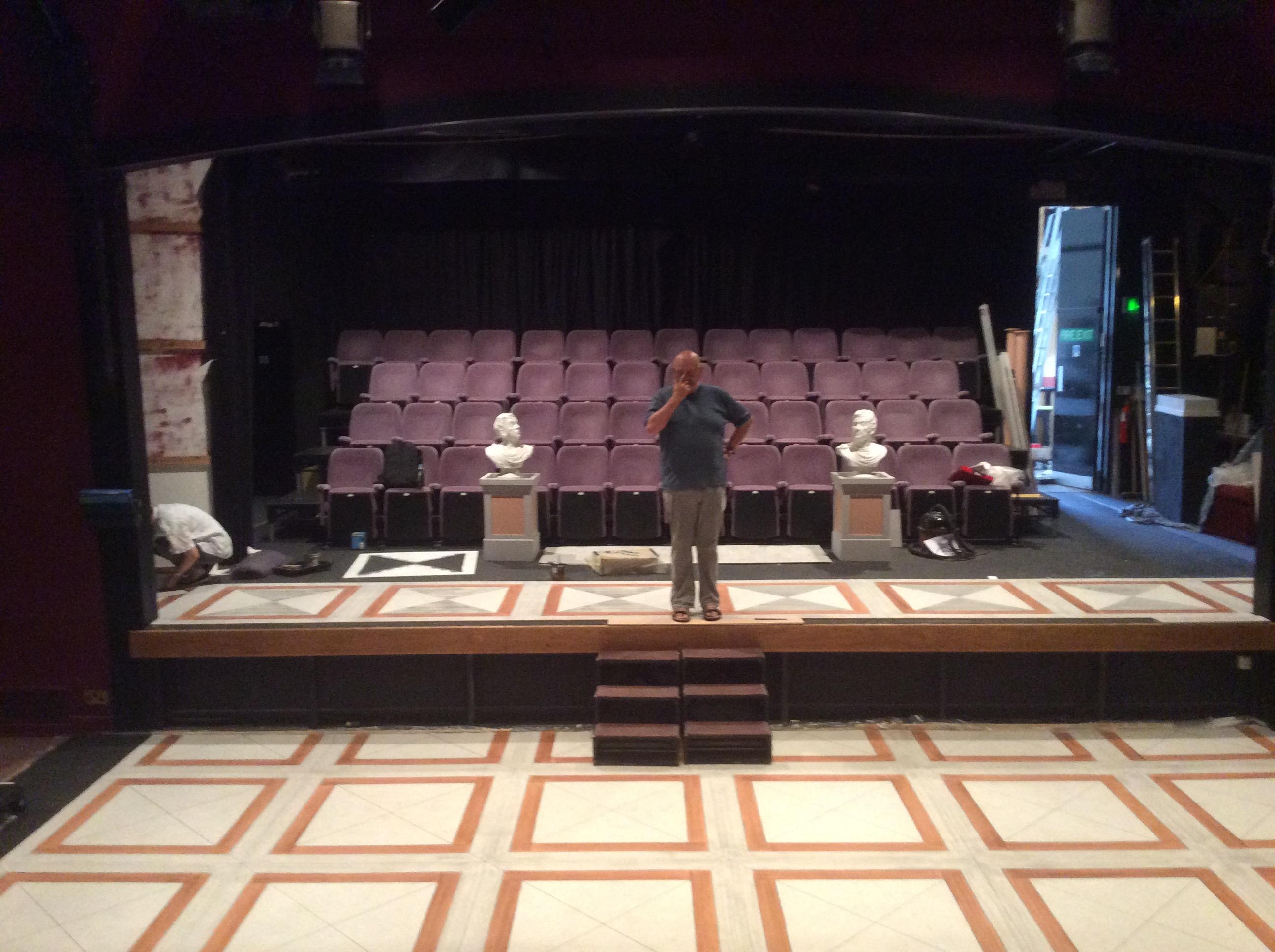 Miller Center stage
