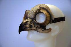 owl fibreglass mask