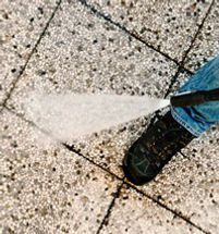 Share Cleaning Power-wash / pressure cleaning remove dirt, grime, oil stains from sidewalks, walkways, entrances, driveways, parking areas, walls and fences restoring surfaces to their original appeal.