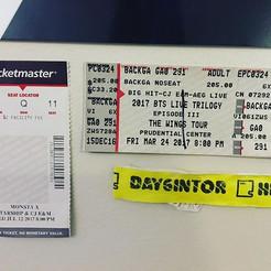 Ticket Stubs - It's slowly growing :)
