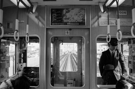 Osaka. Japan. On the way to Kyoto