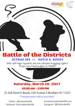 Battle of the districts