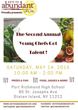 CULINARY EVENT FLYER