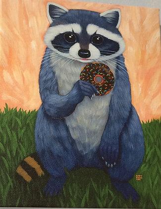 Raccoon Giclée #2