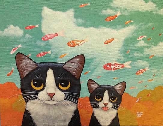 Cat Giclée  #1