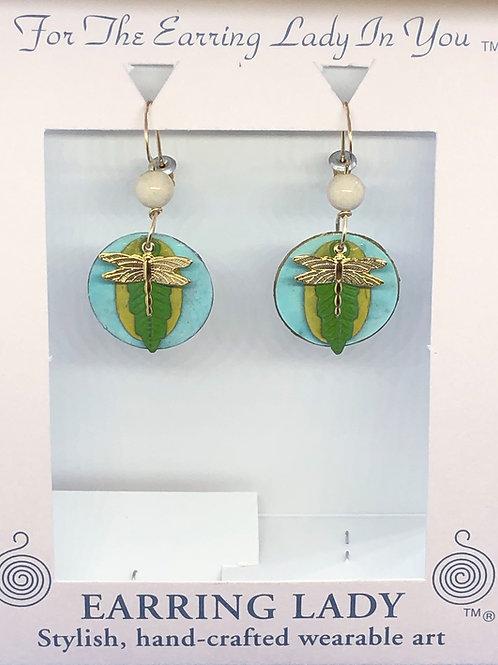 dragonfly earring