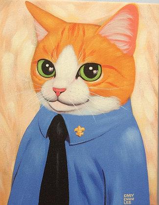 Cat Giclée # 10