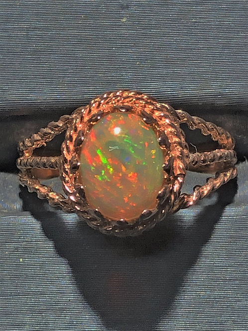 1.17 ct opal ring