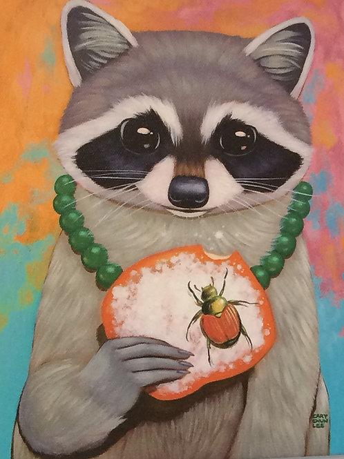 Raccoon Giclée #6