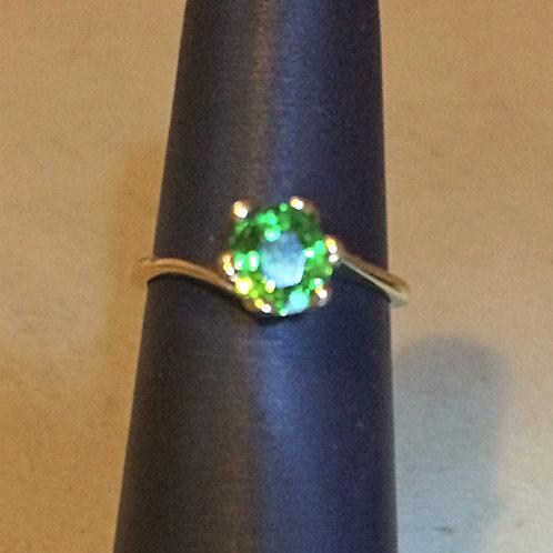 1.2 ct. Tsavorite Garnet Ring