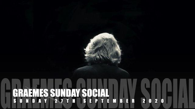 The Sunday Social - 27/9/2020
