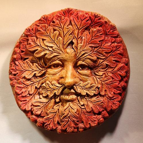 Autumn Greenman Plaque