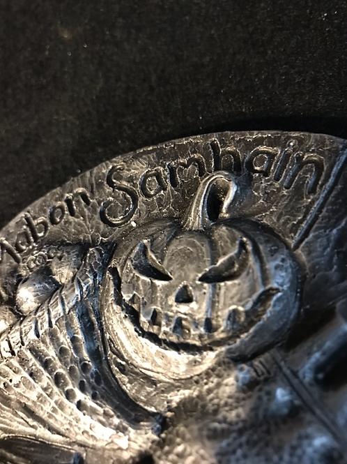 Pagan wheel of the year SMALL incense holder. Metallic finish  wholesale