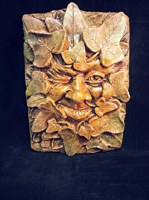 Winking Ivy Greenman Plaque
