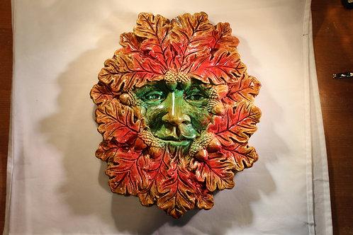 Large Autumn Green Man Plaque WHOLESALE