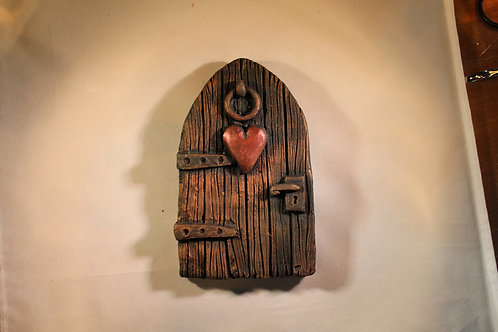 Large Fairy Doors with Hearts, stars or Hares