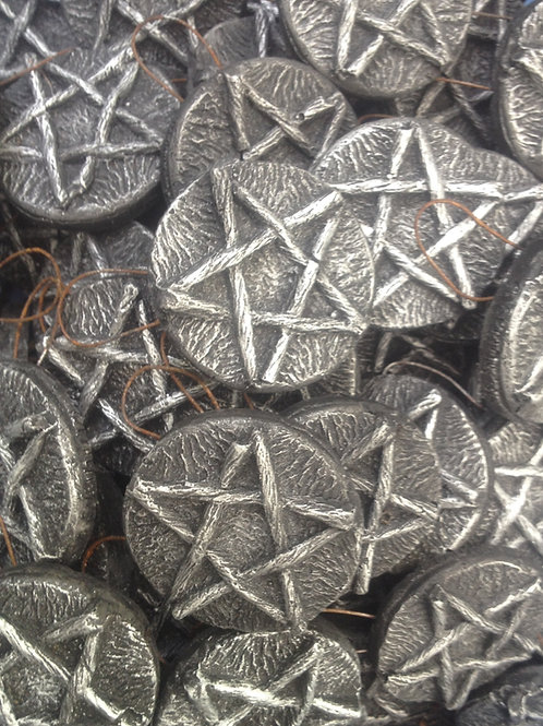 Pentacle Tree Decorations (x10)