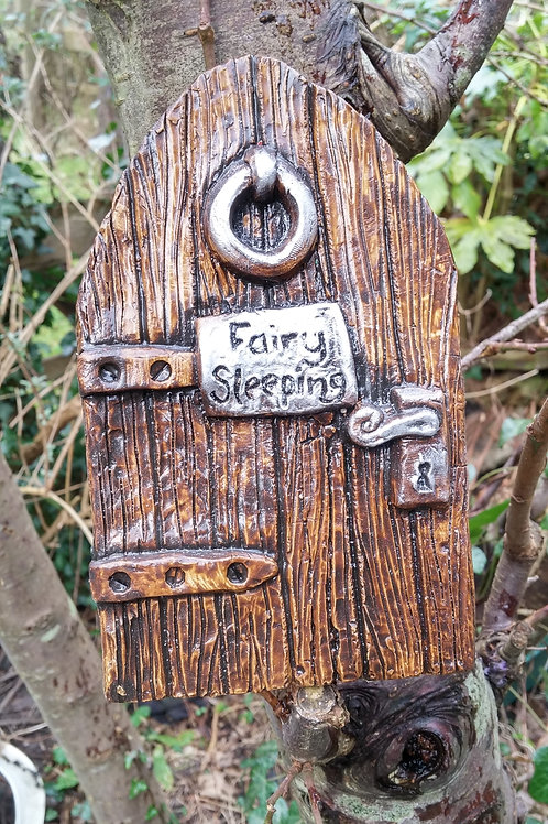 Large Fairy Door ''Fairy Sleeping''