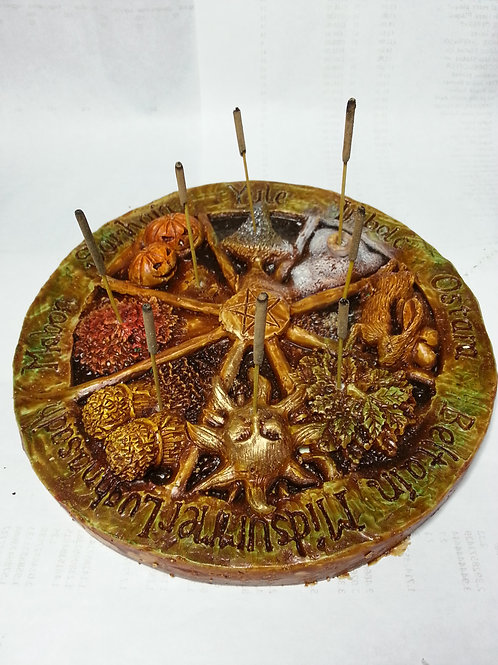 Wheel of the year Incense holder Wholesale