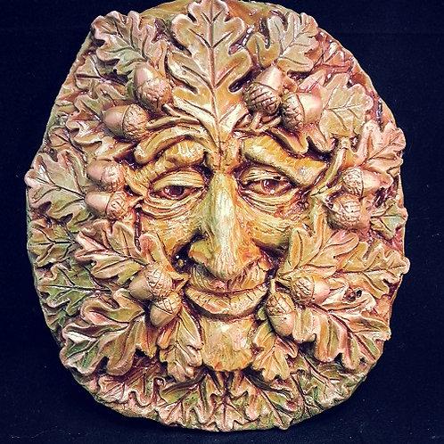 Oak Greenman Plaque WHOLESALE