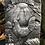 Thumbnail: Lammas Cockerel plaque silver coloured finish