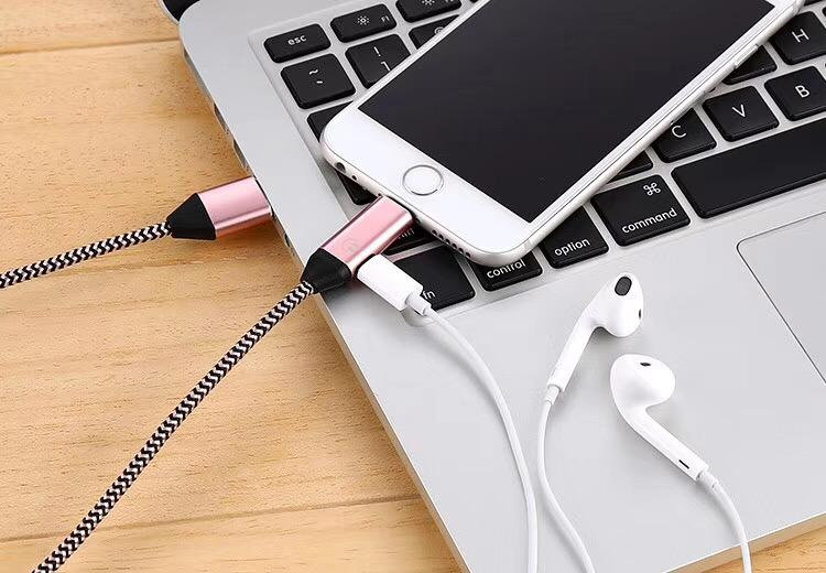 IPhone Multi-Function Cable Music & Charger  & Data & Calling Control